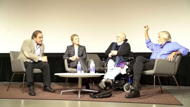 Veterans Ron Kovic, Oliver Stone in Conversation with Robert Scheer