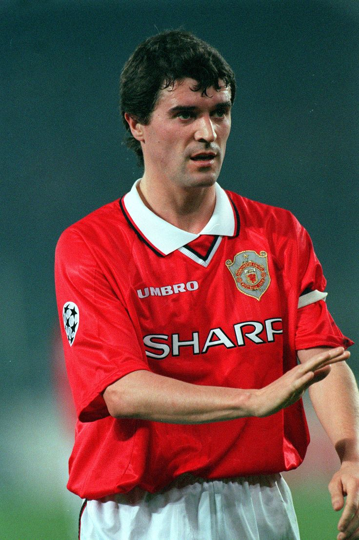 Roy Keane - Cobh Ramblers, Nottingham Forest, Manchester United, Celtic, Republic of Ireland.