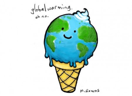 Global Warming cartoon.