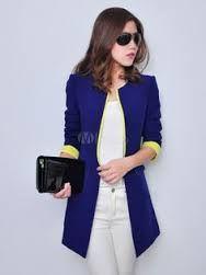 Image result for women's blazer long