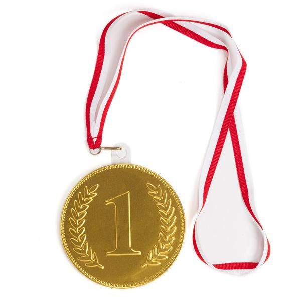 giant chocolate medal