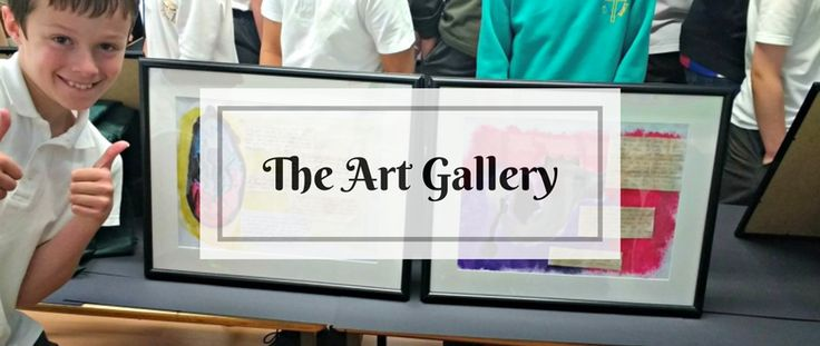All Saints Art Gallery event last week was a wonderful way to celebrate the successes of the Year 4 children's work with their families and friends...