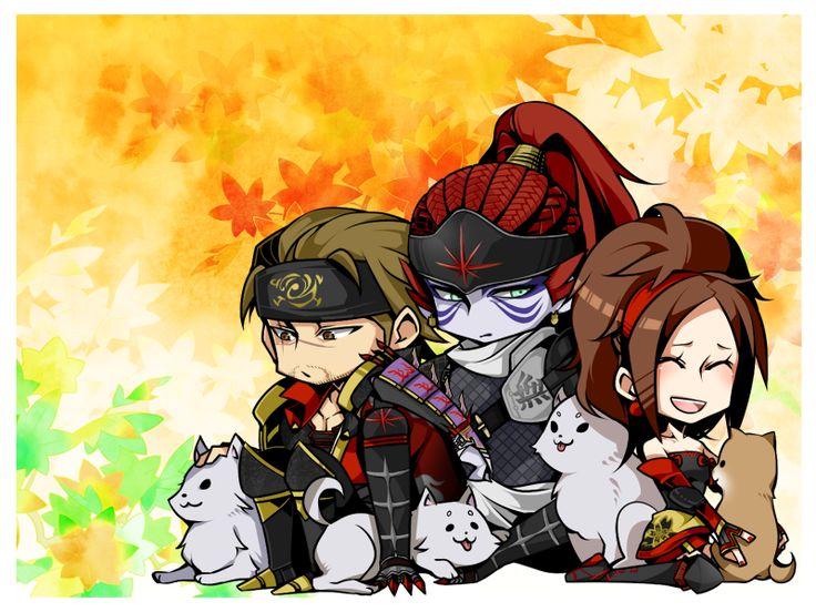 北条犬, Pixiv, Sengoku Musou, Fuuma Kotaro, Kaihime, Hojo Ujiyasu, Sengoku Musou