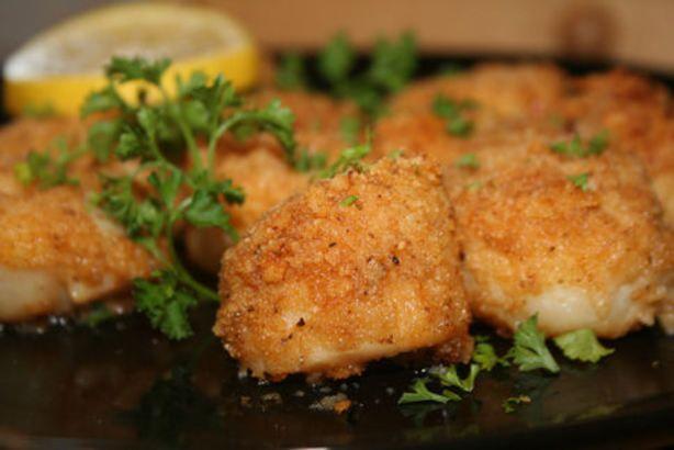 baked stuffed scallops baked scallops scallop recipes fish recipes ...