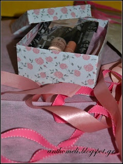 box for presents, anthomeli.blogspot.com: Όμορφες στιγμές... τριανταφυλλένιο αμπαλάζ... και αν έχεις τύχη διάβαινε!