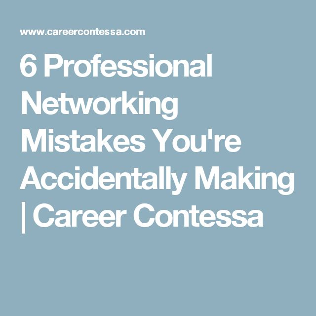 what is career networking