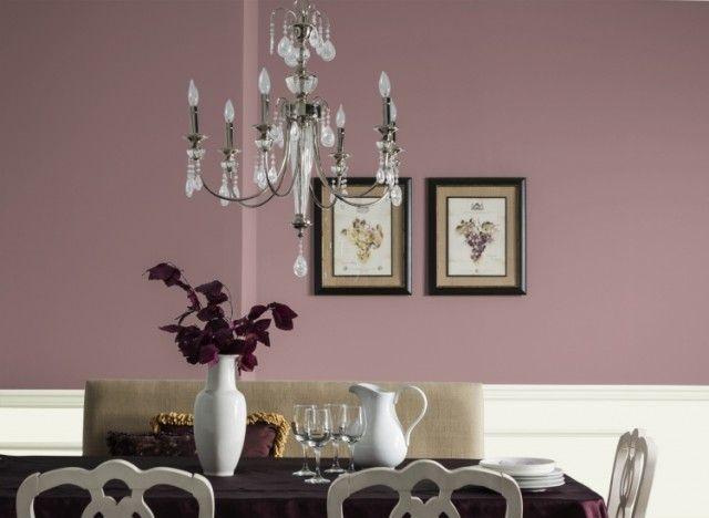 Les 25 meilleures id es de la cat gorie peinture rose sur pinterest peinture violet peinture for Peinture murale argentee