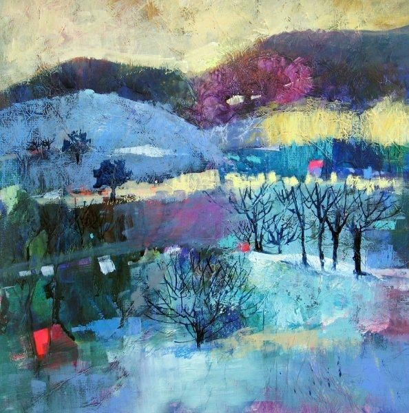 Gallery Landscape Soraya French (Iranian-born artist living and working in the U.K.)
