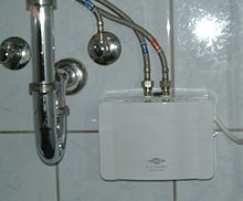 Tankless water heating - Wikipedia, the free encyclopedia