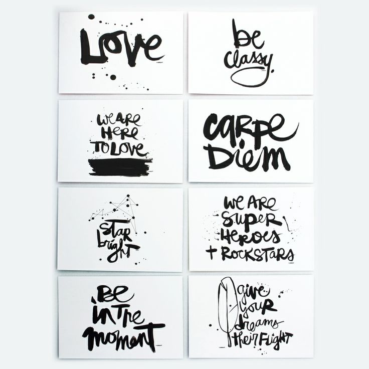 """""""We are here to love"""" is my favorite. These would be awesome to send and receive. :: Kal Barteski Notecard Set"""