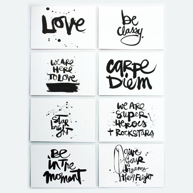 """I love """"Give your dreams their flight"""" :: Kal Barteski Notecard Set"""