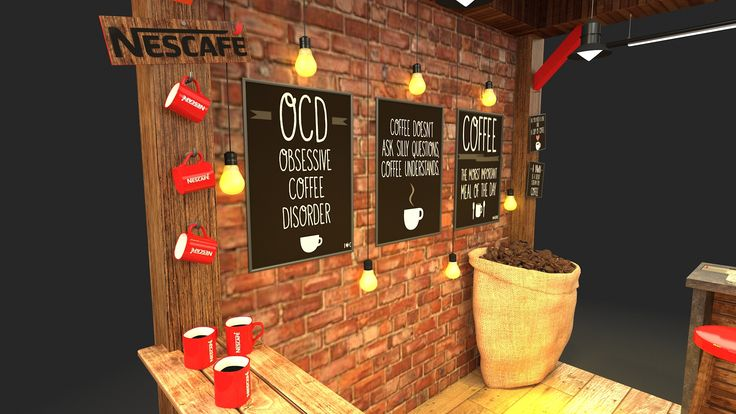 Nesacafe Coffee Booth