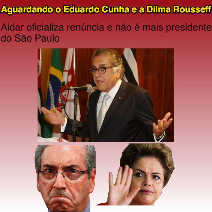 Aguardando o Eduardo Cunha e a Dilma Rousseff ➤ http://www.mtdestaque.com.br/2015/10/aidar-oficializa-renuncia-e-nao-e-mais.html ②⓪①⑤ ①⓪ ①③ #Impeachment