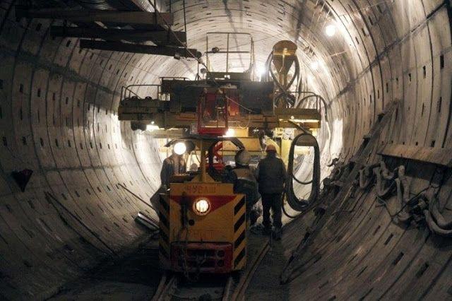 Транспортный блог Saroavto: Санкт-Петербург: Завершена проходка тоннеля метро ...