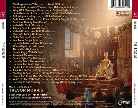 satanic symbols at the vatican | Film Music Site (Nederlands) - The Borgias Soundtrack (Trevor Morris ...