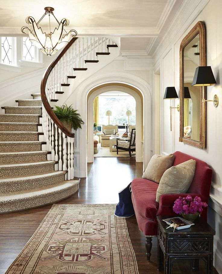 Best 25 Curved staircase ideas on Pinterest Foyer  : 614533a651fe939e0f63ceb53c3a72be curved staircase foyer stair case from www.pinterest.com size 736 x 907 jpeg 131kB