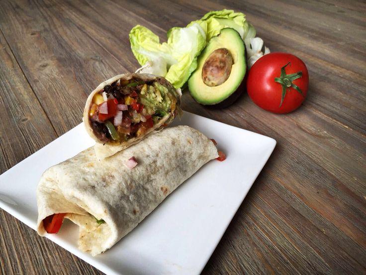 Vegan burrito #plantbased #vegan #organic #healthy