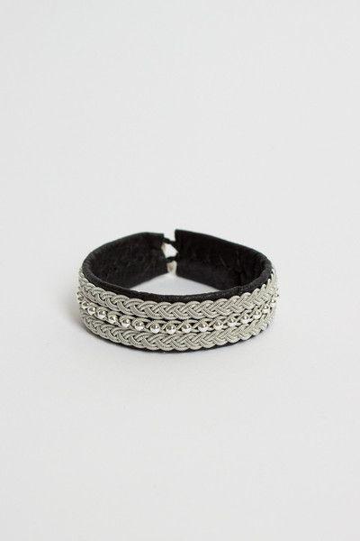 Maria Rudman | Black CS Bracelet