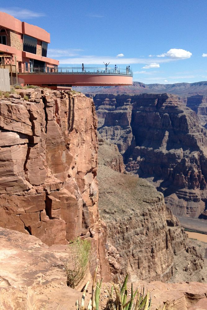 Have you ever stepped out on the Grand Canyon Skywalk? Now is time to plan your next trip. Check out all of the great travel books at the library.  http://coolcat.org