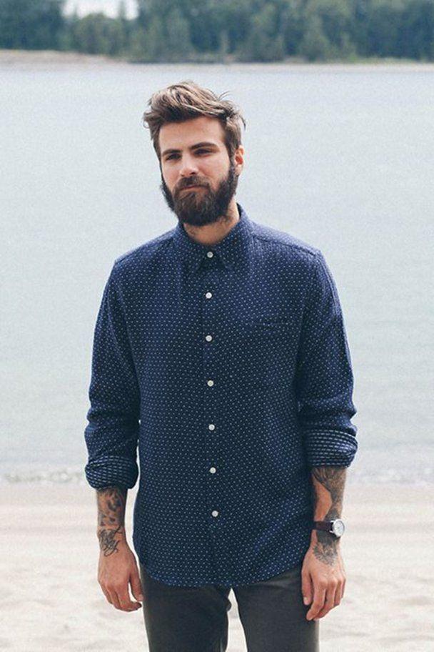 look hipster hombre casmisetas 2014 camisa 5 gente con barba pinterest hipster. Black Bedroom Furniture Sets. Home Design Ideas