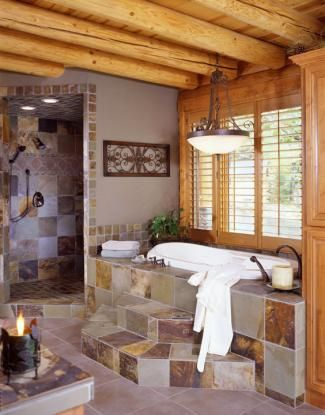 Nice Best 25+ Log Home Bathrooms Ideas On Pinterest | Log Cabin Bathrooms, Cabin  Bathrooms And Log Cabin Homes