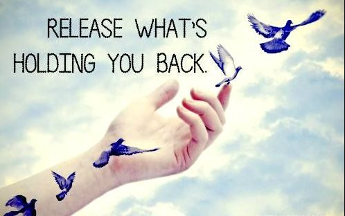 What is holding you back? Release and free yourself from all the negativity and burden. Get rid of the stinking thinking... Let It ALL Go... And Claim The New YOU! ... and RISE... Like a Phoenix