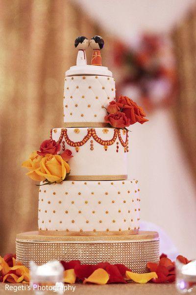 Cute Indian Wedding Cake Topper Maharaniweddings