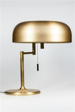 Vara: 4007113Tischleuchte Messing mit Zugschalter, Swiss-Lamp, Design