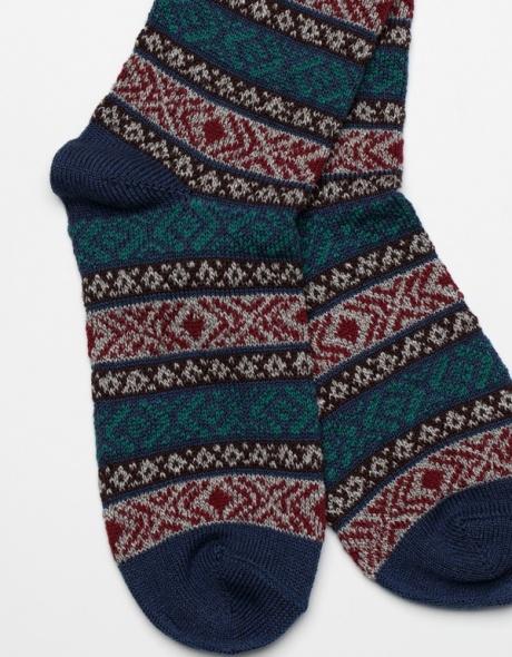 Anonymous Ism Ethnic Three Quarter socks