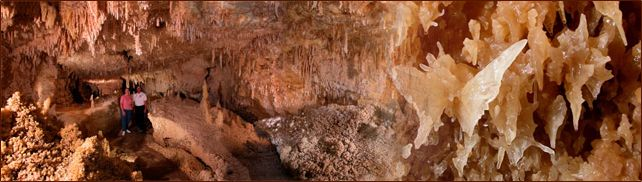The Caverns of Sonora - a beautiful place to go but be aware it cost $20 per person