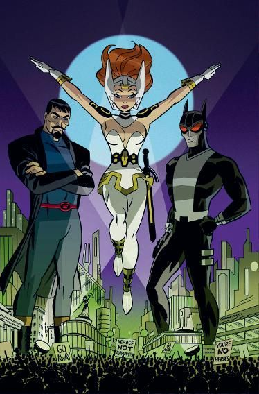 Justice League: Gods and Monsters - Superman, Wonder Woman, and Batman by Darwyn Cooke