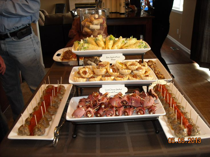 what food to serve at a wine tasting party