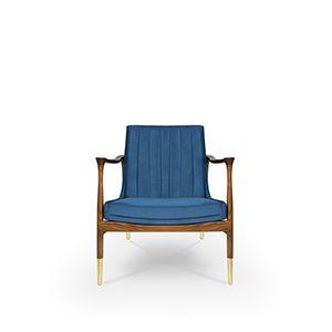 Hudson Armchair | Essential Home | Mid Century Furniture