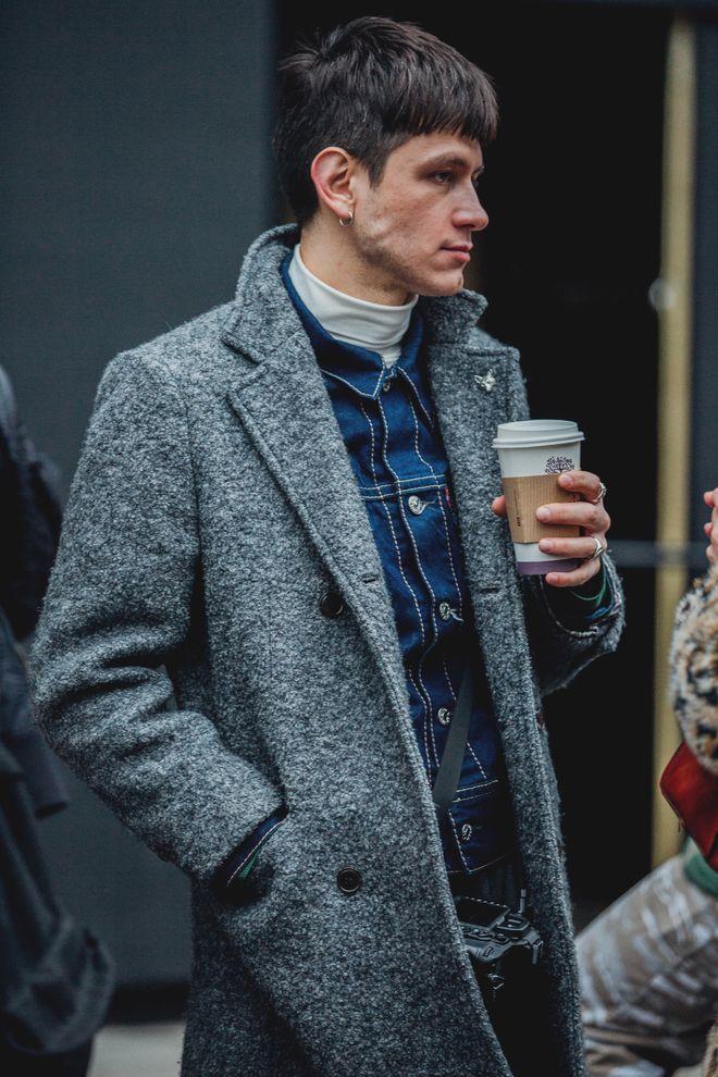 Street Style A La Fashion Week Homme Automne Hiver 2018 2019 De