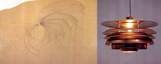 """""""Pariserlampen"""", Sketch, Developed 1925"""