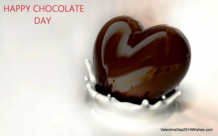 Chocolate Day Wallpaper HD - Happy Chocolate Day [ValentineDay2014Wishes.com]