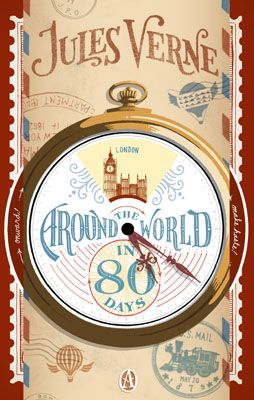 Around the World in 80 Days by Jules Verne   July 2014   ★★★★★ (By the way, why has a hot air balloon become so characteristic of this story? He never actually uses one.)