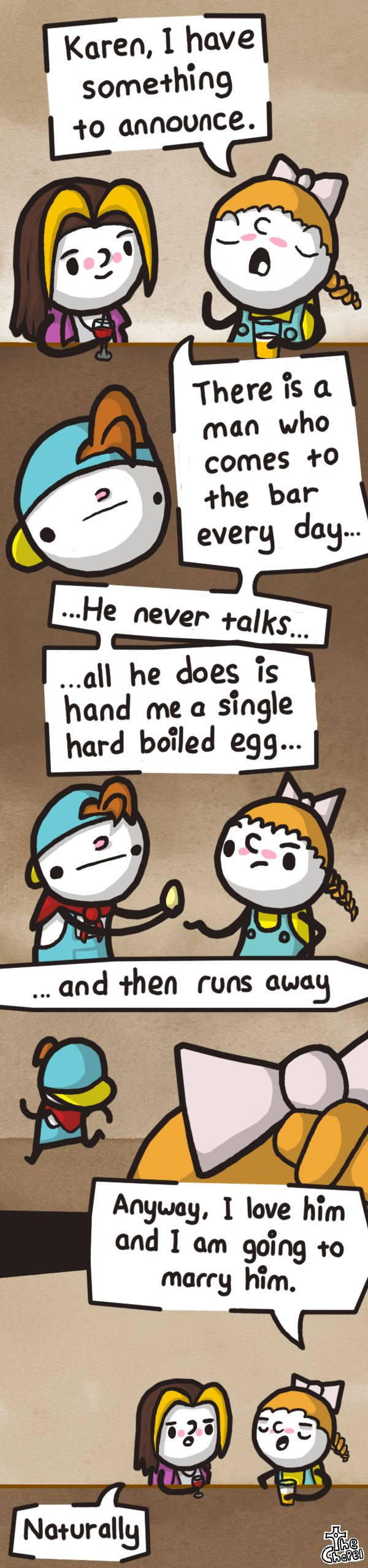 Harvest Moon logic this made me laugh