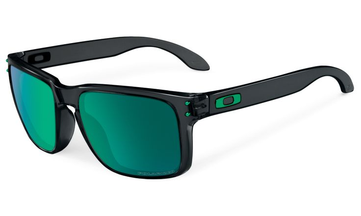 Holbrook Black Ink Jade Iridium Polarized