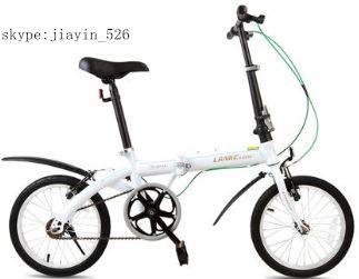 China oferta fabricante 16 pulgadas bici plegable/bicycle con precio más barato
