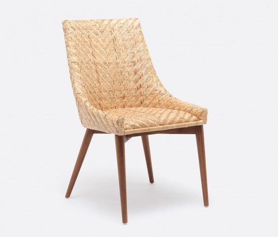 Charming Interesting Rattan Dining Chairs For Modern Complete Dining Room Design  Decoration: Woven Rattan Dining Chair Mecox Gardens With Rattan Dining  Chairs And ...