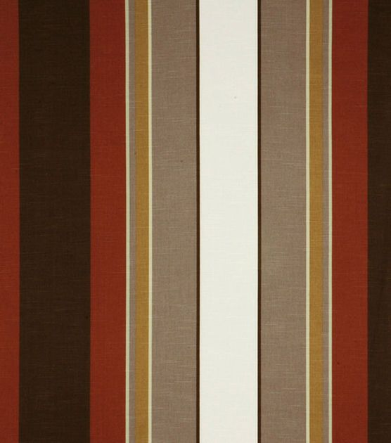 Home Decor Fabric - Robert Allen Escher Terracotta Fabric