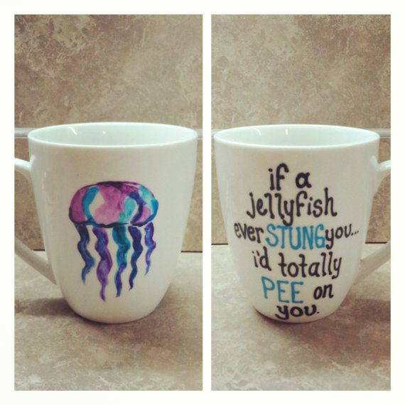 Wonderful SPOILER Esto Pasa En Friends,jajajaja Jellyfish Coffee Mug