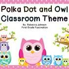 This is perfect for any classroom! Especially those with an owl and/or polka dot theme!What's included:Calendar- month headings, numbers 1-31 ...
