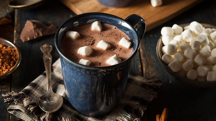 Ay hemen kar yağsın: Marshmallowlu Sıcak Çikolata