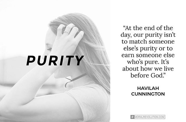 Purity isn't about earning a spouse who has a pure past or even getting married by a certain time. When we make it about this, it has an agenda. It's meant to be a gift we can give to God because it cost us something. It's about living a life that honors Him and the people around us. #purposeofpurity #itsaboutmeandHim #otherpeoplebenefit #butUsfirst #thenIcangivefromthisplace #moralrevolution