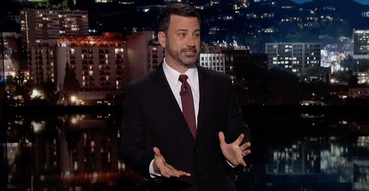 His voice breaking and tears welling up in his eyes, Jimmy Kimmel delivered the most compelling 13-minute monologue of his career.