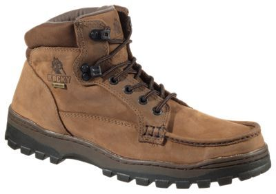 """ROCKY Outback GORE-TEX Chukka Hiking Boots for Men - Brown Leather - 11W: """"""""""""For a quiet stroll through the… #Outdoors #OutdoorsSupplies"""