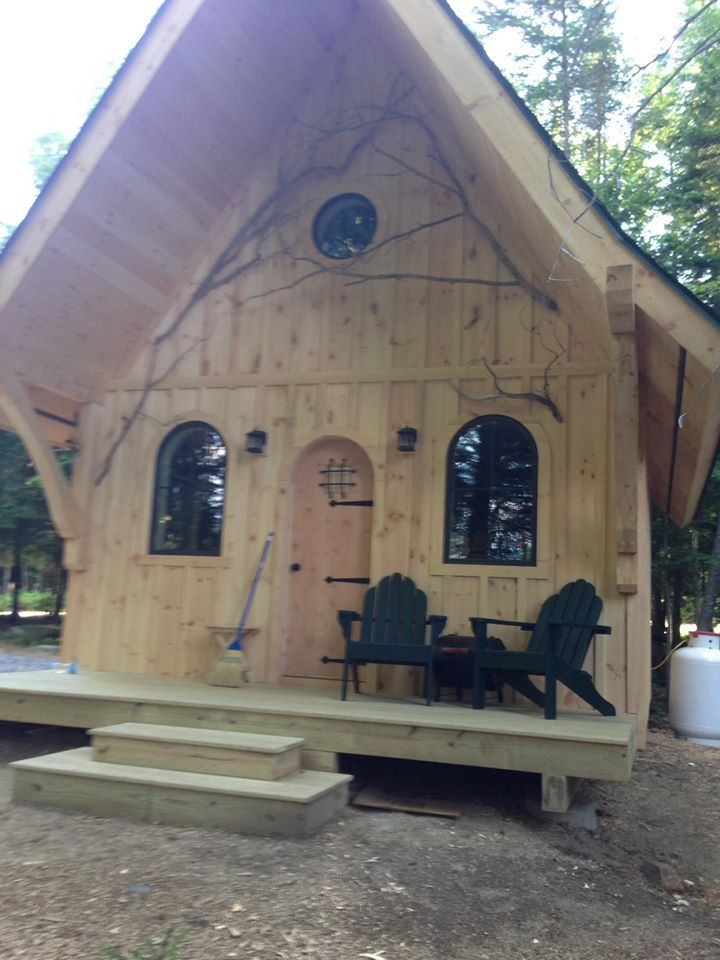 Here is recent very small house we built in a short time.....approx...288sq ft