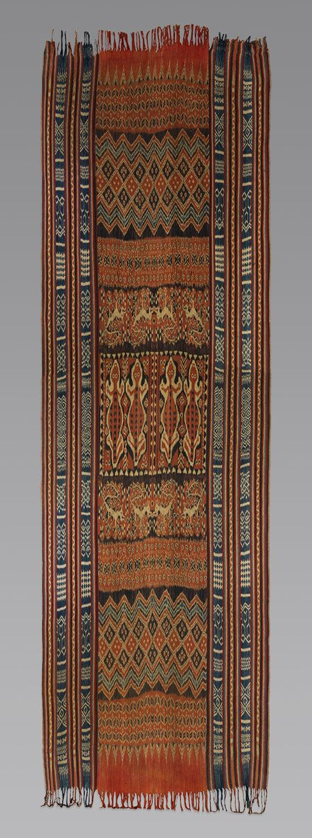 prior pinner: Ceremonial Hanging (Porilonjong) [Rongkong Toraja people, Sulawesi Island, Indonesia] (1990.335.19)
